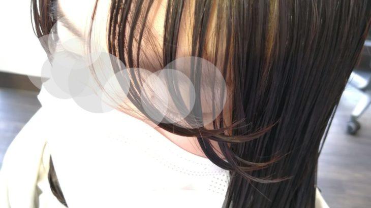 【写真24枚】縮毛矯正毛にデジタルパーマでワンカール【肩下ミディアム】