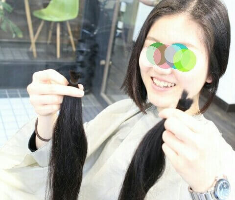 【ヘアドネーションの不安解消!】長さ (簡単な測り方)・仕上がり目安・ダメージ毛・お手入れ・年齢 【まとめ 】